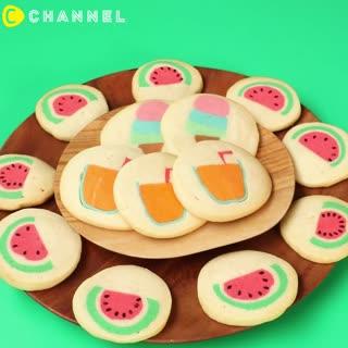 什麼圖案都可以~超夏日出遊餅乾集合