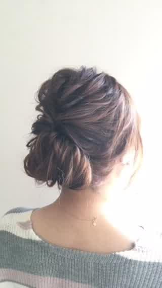 母 髪型 卒業 式