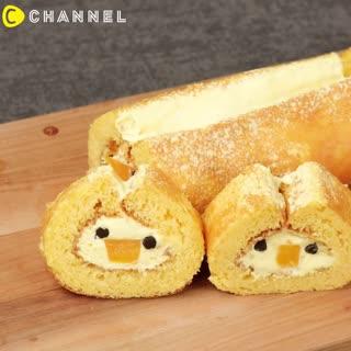 IG瘋狂打卡主角♡神可愛小雞蛋糕捲